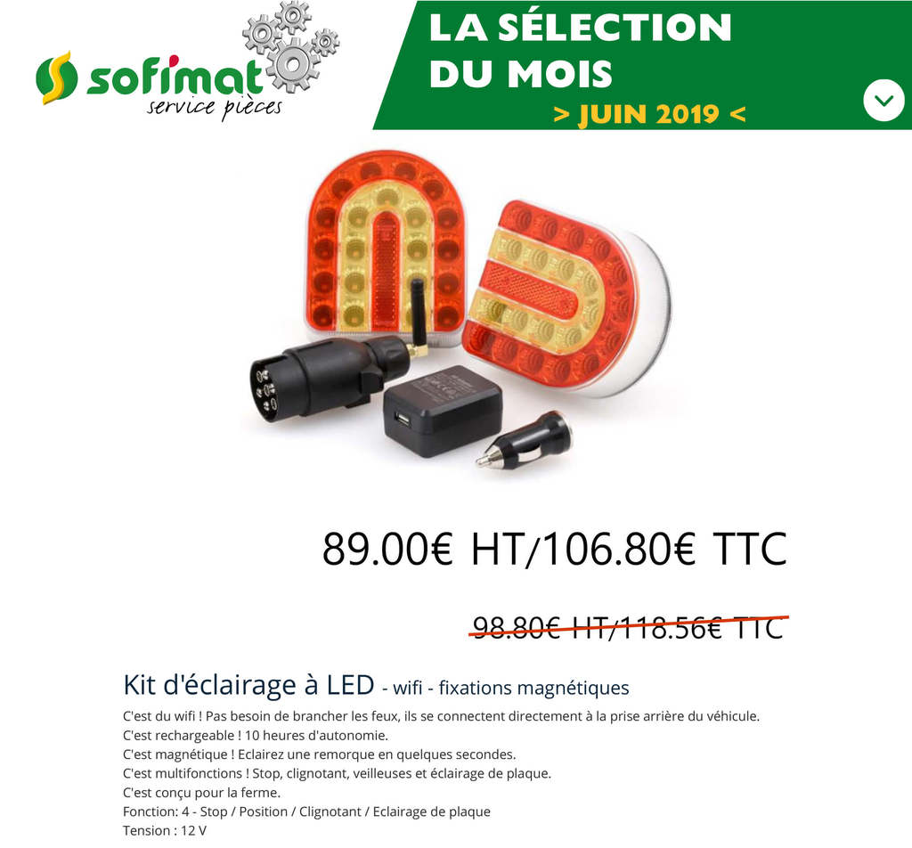 selection-magasin-kit-eclairage-a-led-offre-promotion-sofimat-pieces-finistere-29-morbihan-56-bretagne