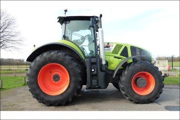 Tracteur agricole Claas Axion920 - 1