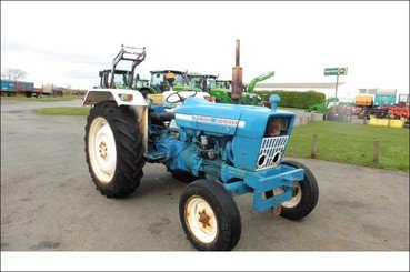 Tracteur agricole Ford 4000 - 1