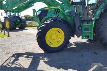 Tracteur agricole John Deere 6130m pq+chargeu - 3