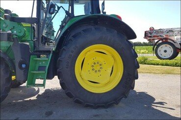 Tracteur agricole John Deere 6130m pq+chargeu - 4