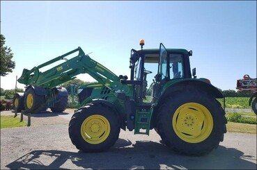 Tracteur agricole John Deere 6130m pq+chargeu - 5