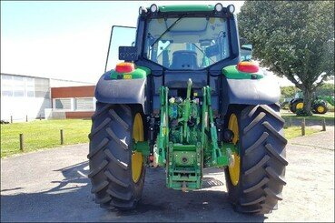 Tracteur agricole John Deere 6130m pq+chargeu - 6