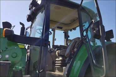 Tracteur agricole John Deere 6130m pq+chargeu - 7