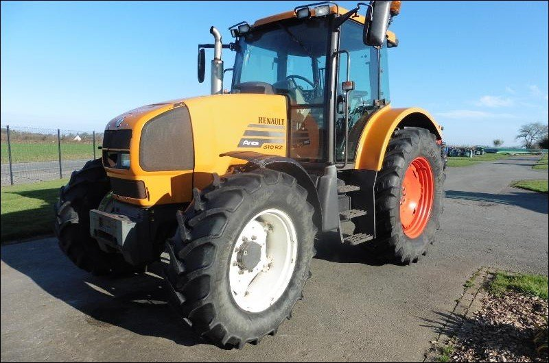 Tracteur agricole Renault Ares610rz - 1